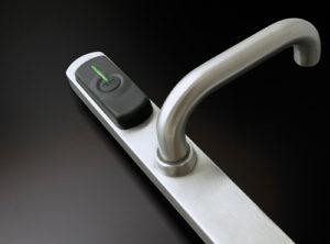 Maniglia elettronica per hotel ISEO