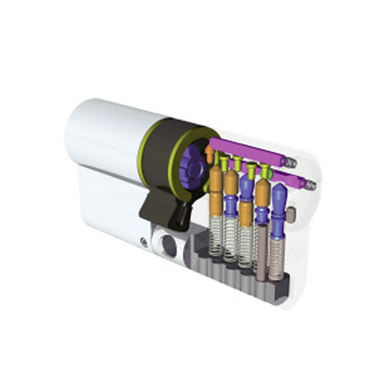 Cilindro europeo dom ix 6 sr romana serrature 0641731422 for Cilindro europeo migliore