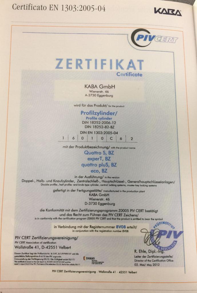 certificato_sicurezza_serrature_roma_romana_serrature