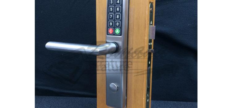 Maniglia per hotel elettronica con codice DOM
